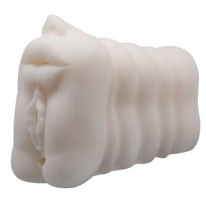 Multi-speed artificial real skin pussy robotic pussy vagina masturbator for male