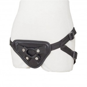 Satin adjustable strap on dildo harness Belt Strapon harness Lesbian Gay