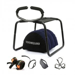 Position Furniture Enhancer Chair with Pillow Bondage kit