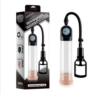 Pressure Gauge Penis Enlargement Pump Sex Male Penis Vacuum Pump