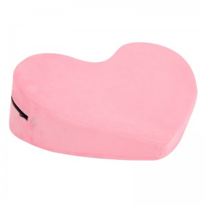 Heart-shaped erotic sex auxiliary pillow adult products couple flirting toys