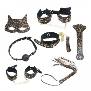 Sex Toys Bundled Collars Oral Ball Alternative Training Tools