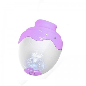 Hands Free Cli torial Sucking Toy for Women 6 Sucking Modes with 8 Speed Vibration  Vibrating Tongue Simulator