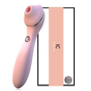 Quiet Rechargeable G Spot Sucking Vibrator For Women