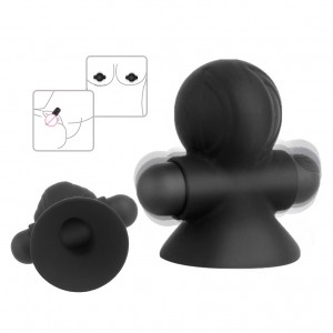2 Packs Nipple Sucker Vibrating Massager Clitoris Stimulator For Woman