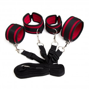 sexy Foreplay Strap On Bondage Bdsm Bed Restraint adult games for couple