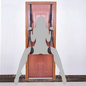 Adjustable Hanging On Door Bondage Sex Swing for couple foreplay