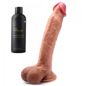 Hands Free Huge Realistic Dildo With Suction Cup For Female 10 Inch
