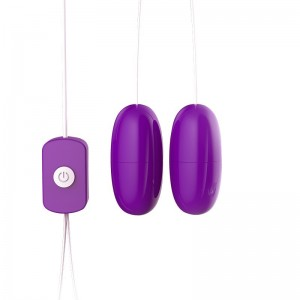 Sex toys mute strong vibration USB double vibrating egg