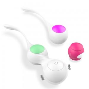 Wireless remote control Kegel vaginal ball vibration reduction vaginal tightening dumbbell